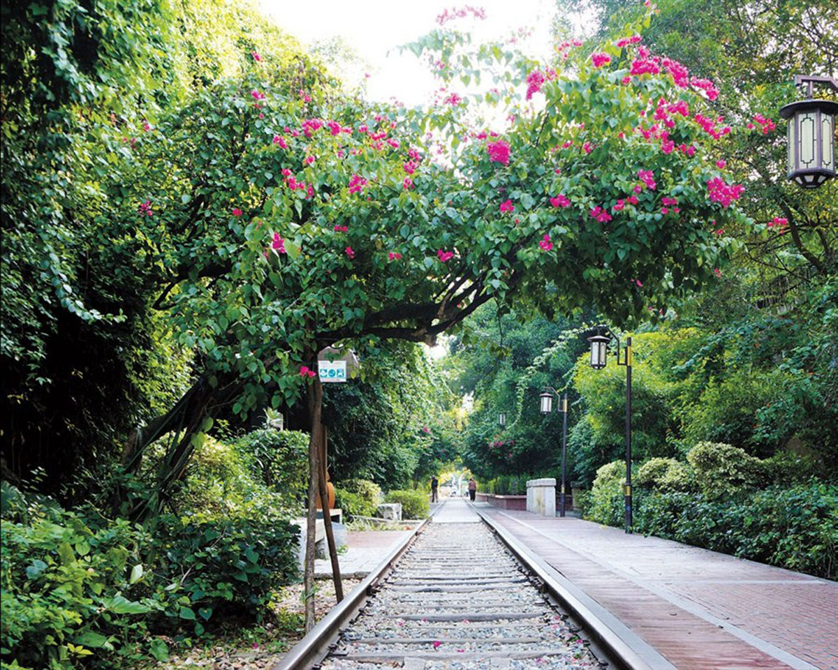 China, Xiamen: Railway Culture Park