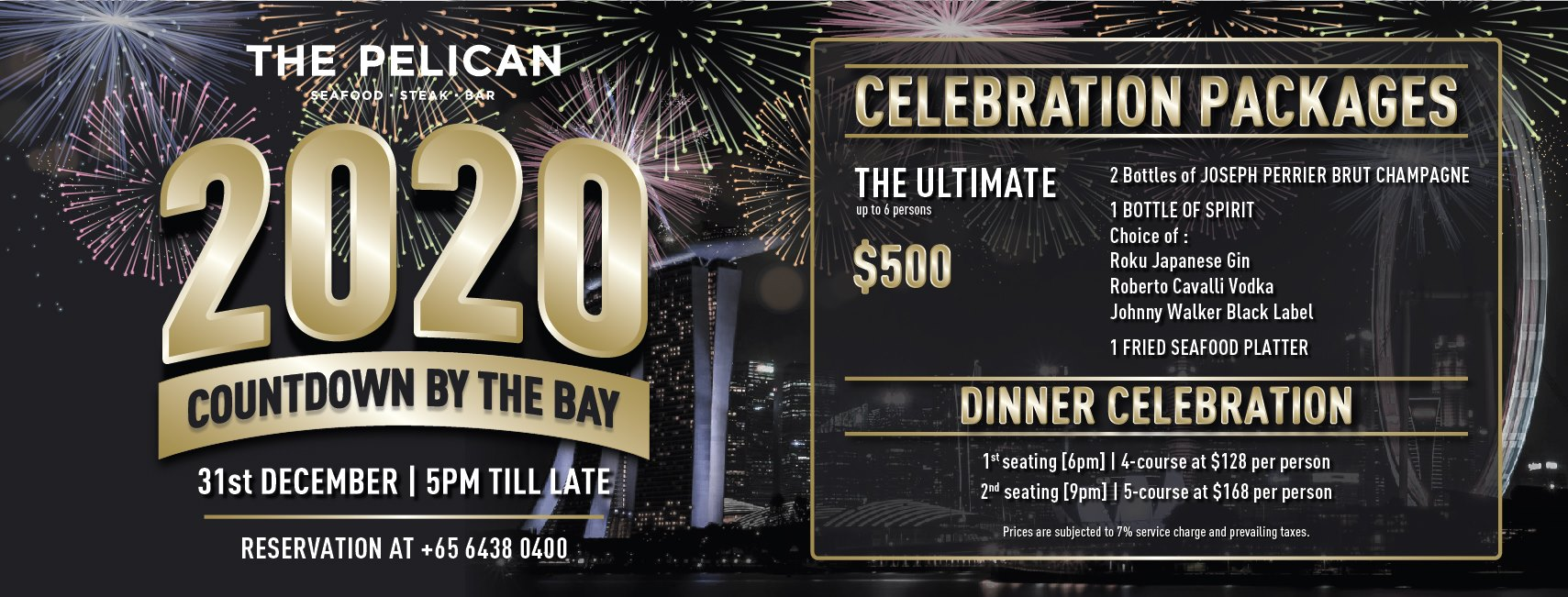 New Year's Eve Countdown 2020: The Pelican