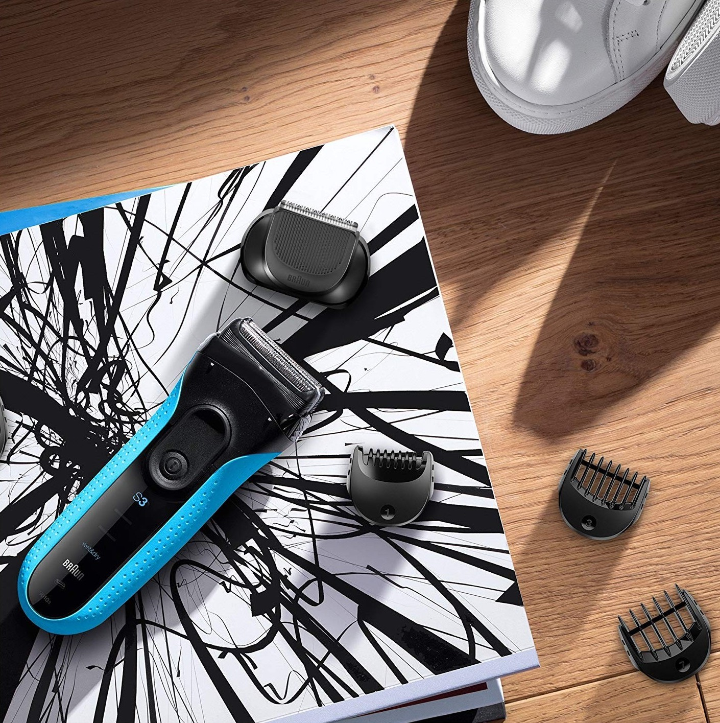braun rechargeable shaver