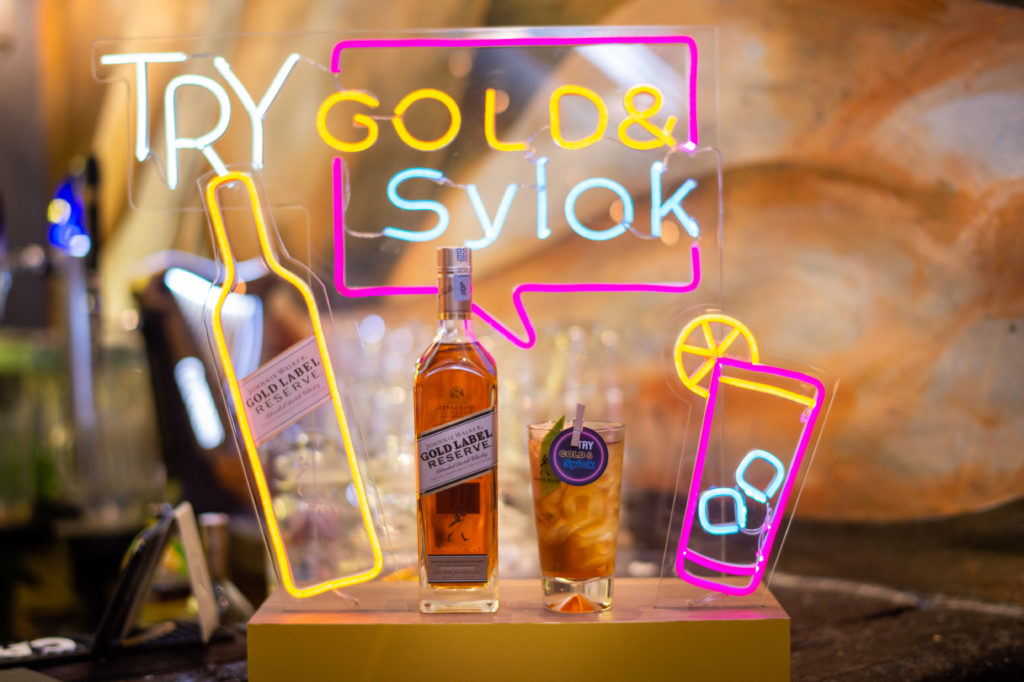 Johnnie Walker Gold& Syiok is a refreshing tipple with various dimensions