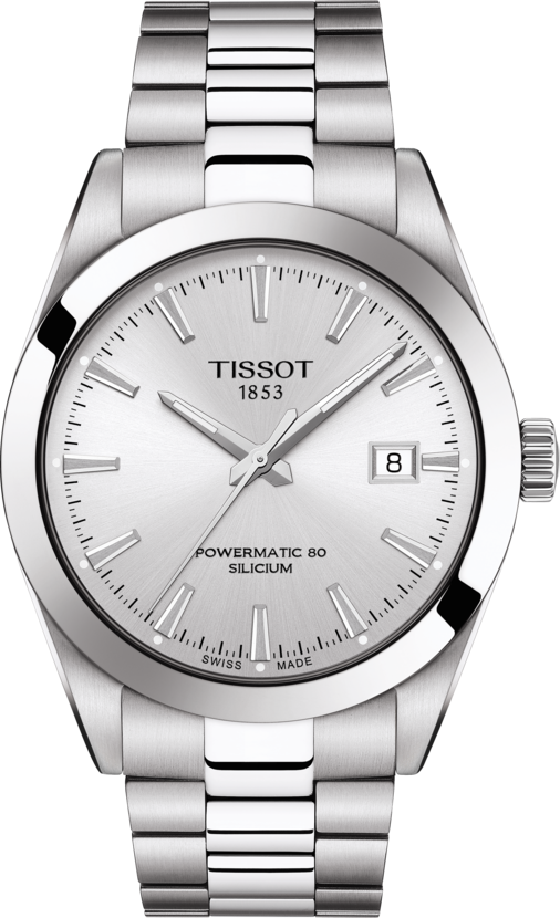 Tissot Gentleman Powermatic 80 Silicium in steel
