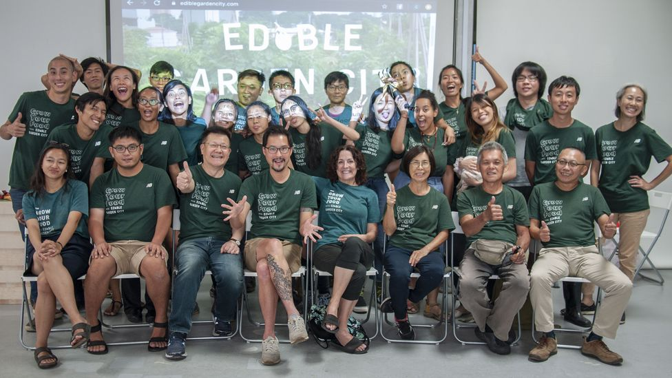 The Edible Garden City team