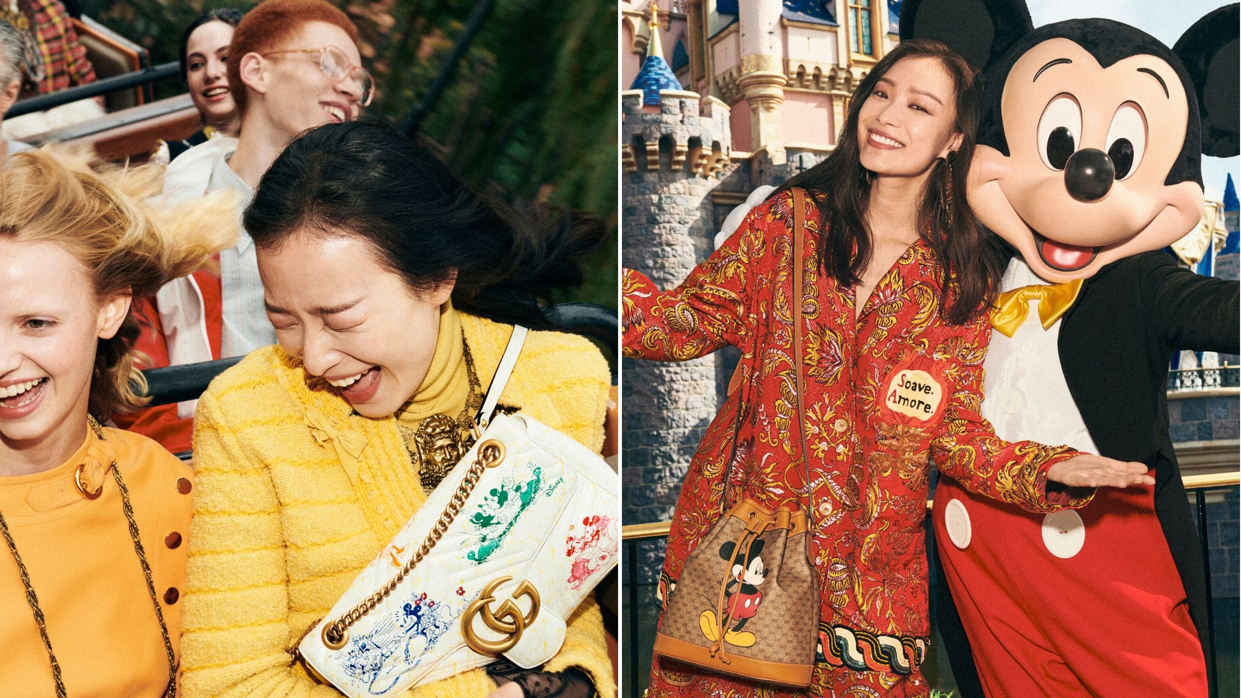 Gucci hits a new high with fun Mickey Mouse collection for CNY 2020