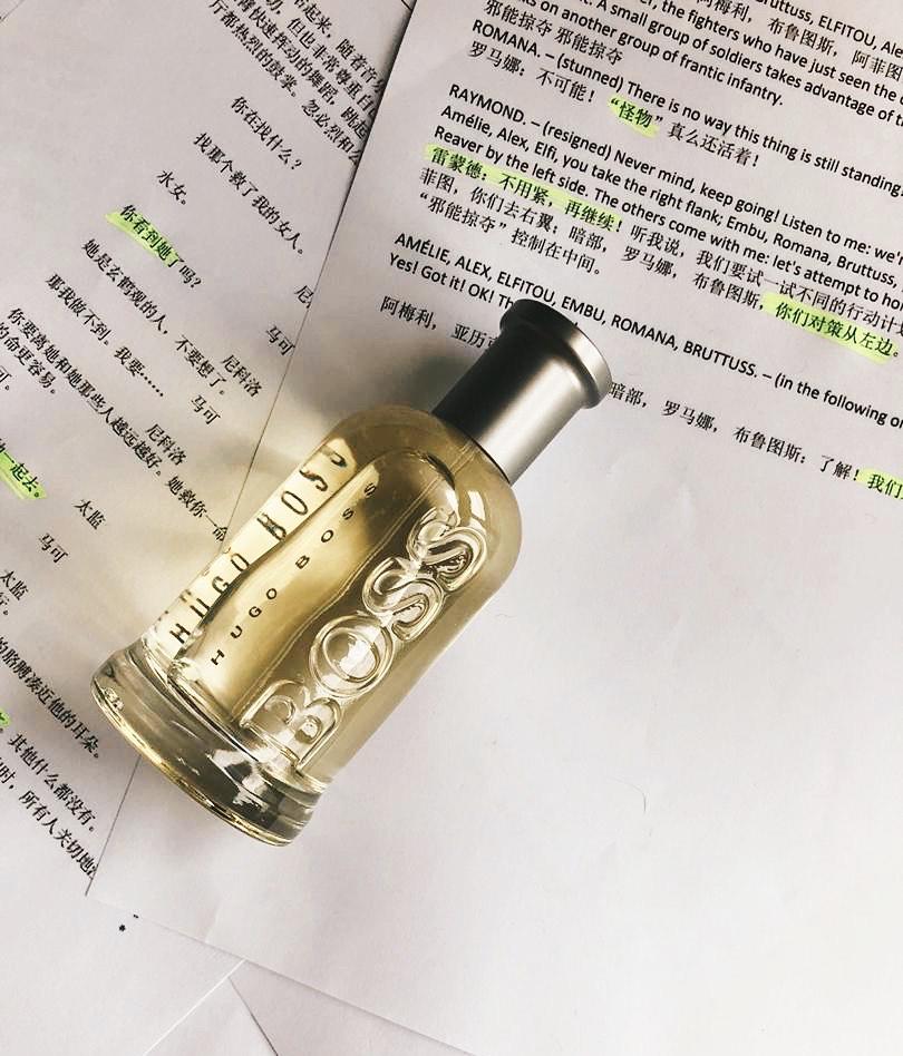 boss perfume