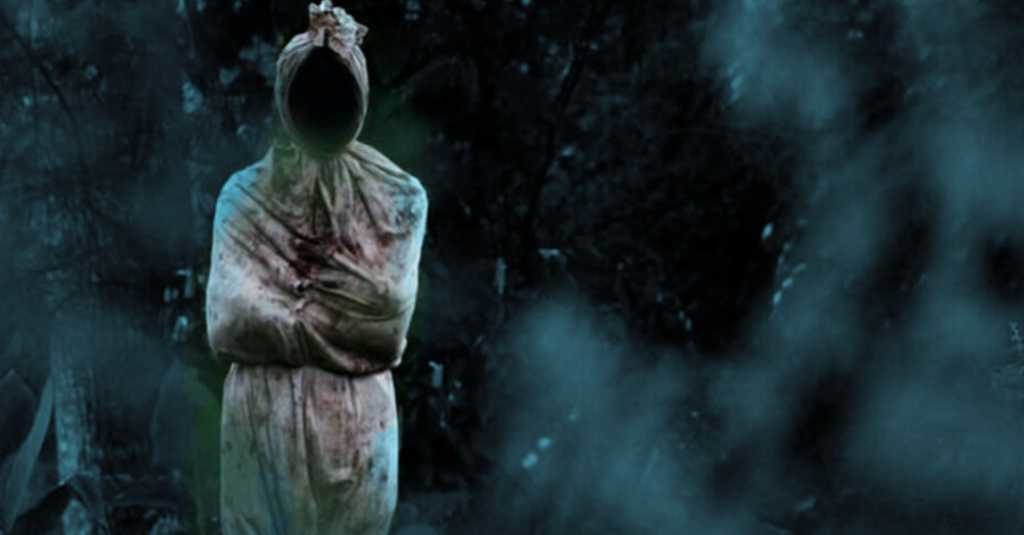 scary ghost pocong