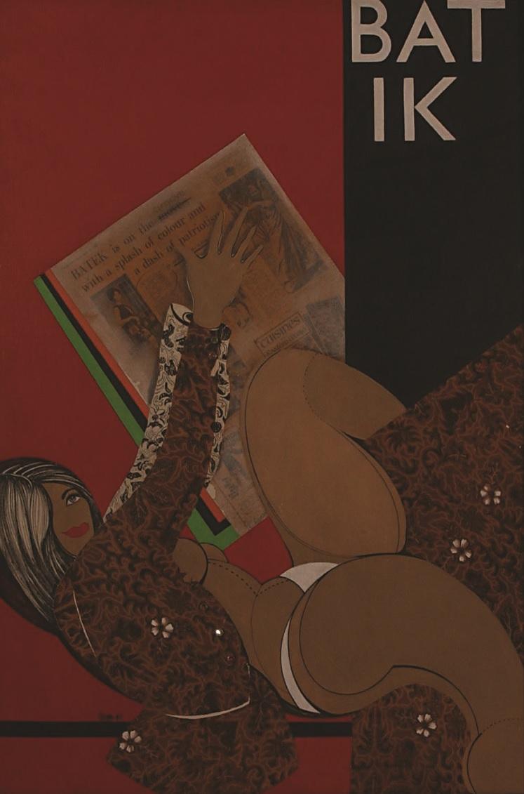 love me in my batik Joseph tan