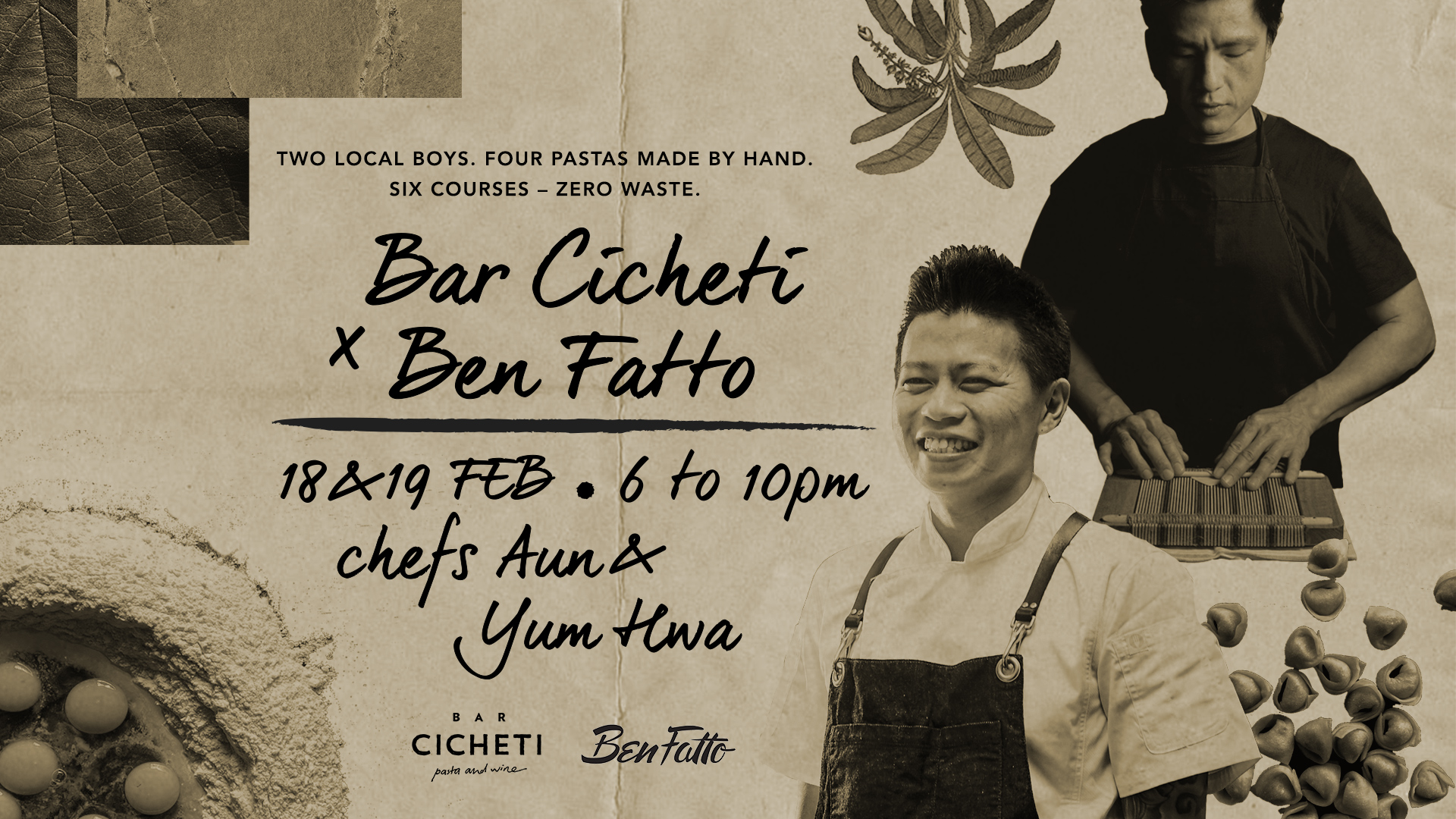 environment: Bar Cicheti x Ben Fatto