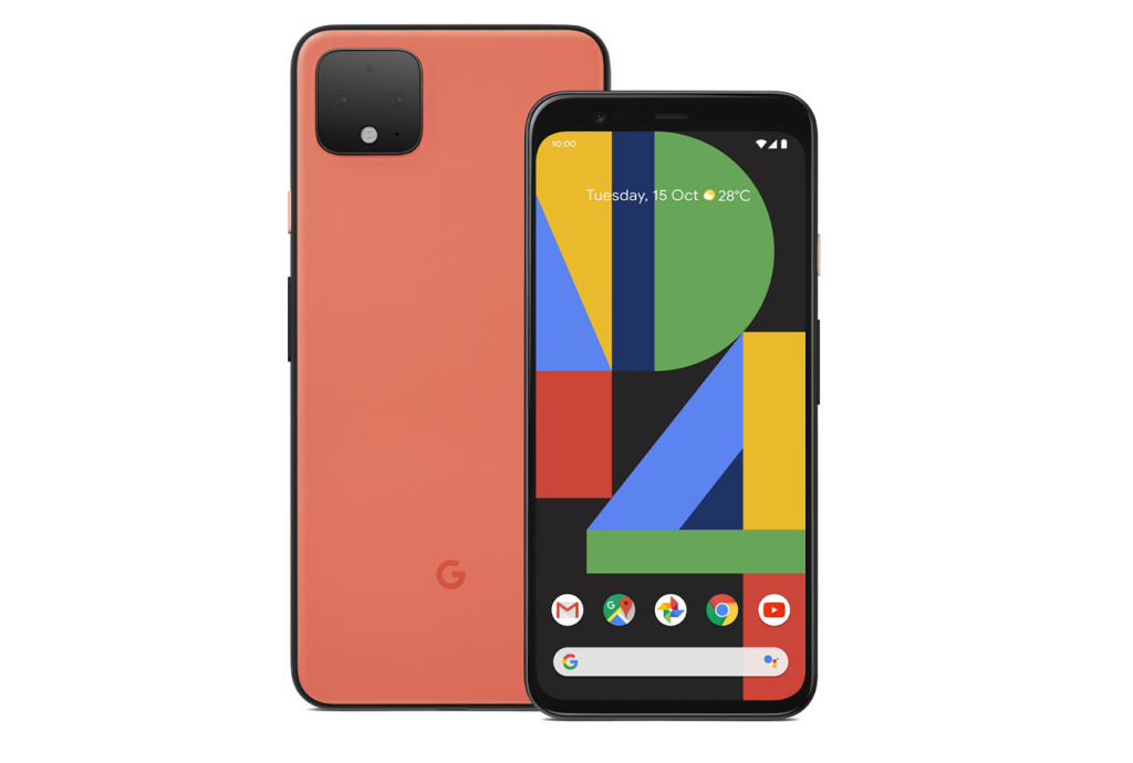 Google Pixel 4, which the Pixel 4a will be based on