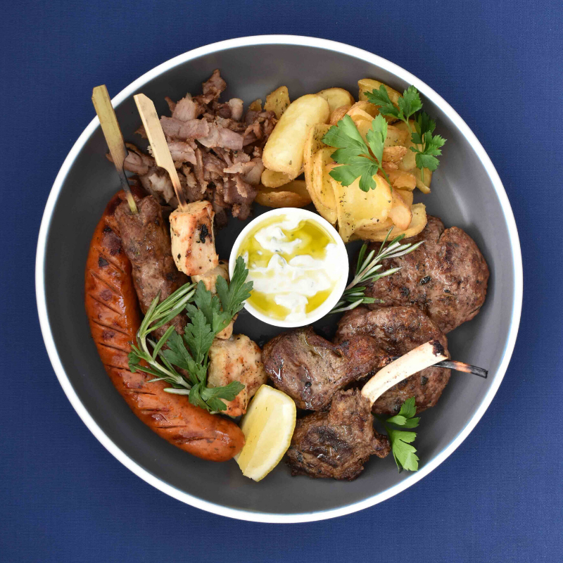 Zorba The Greek Taverna: Mixed Grill Platter