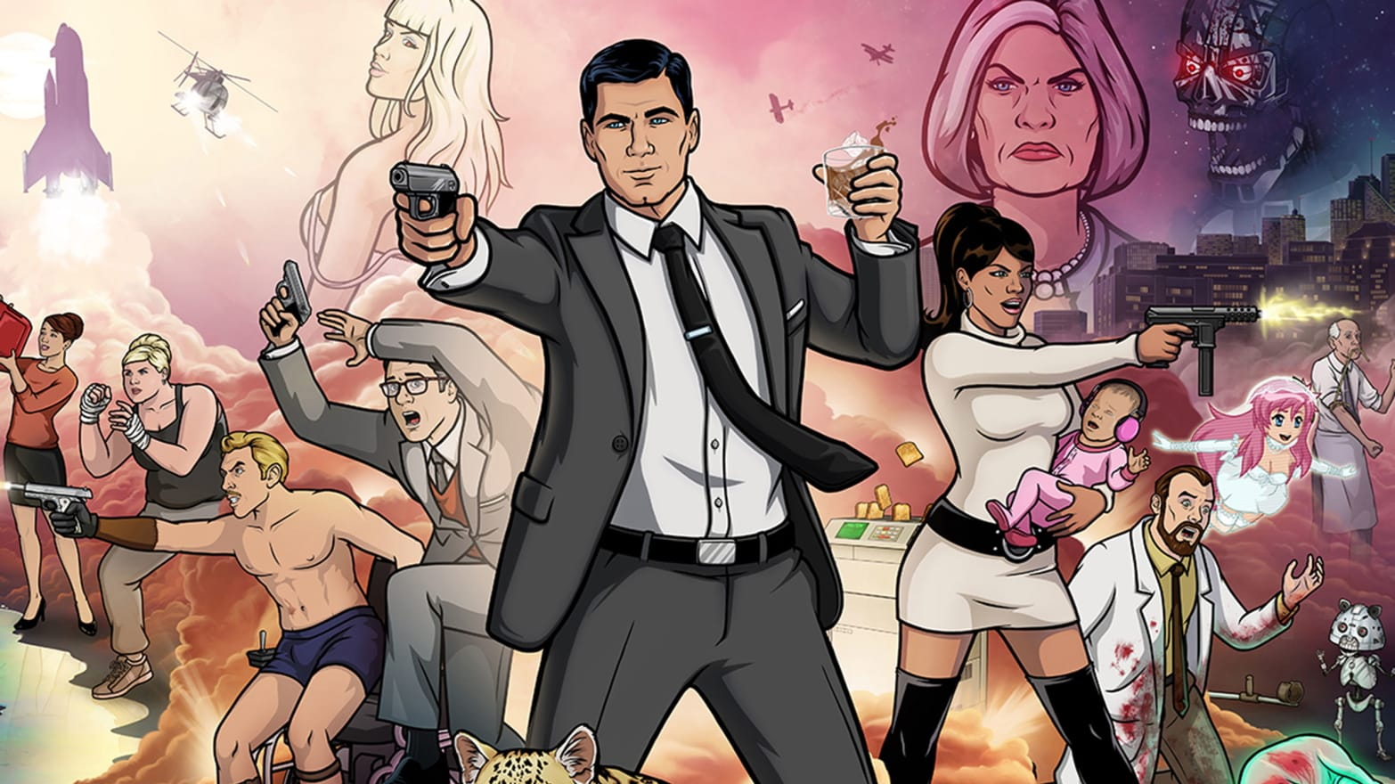 Cartoons for Adults: Archer