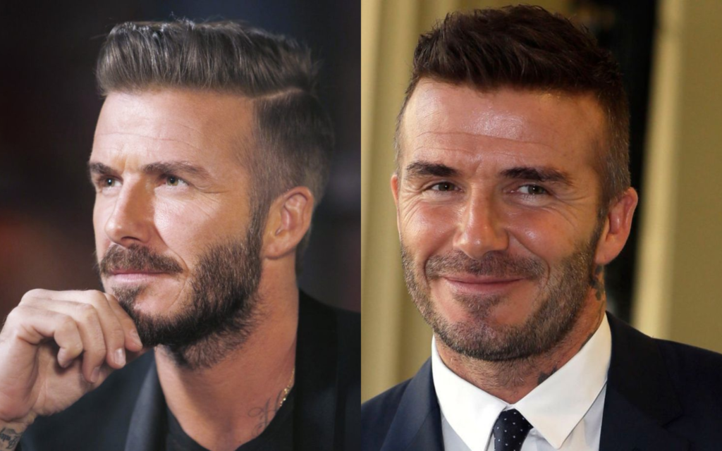 Kick Off Your Hair Game With David Beckham S Best Hairstyles