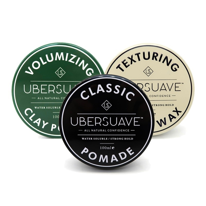 Ubersuave Texturing Matte Wax Classic Pomade Clay Pomade on Shopee