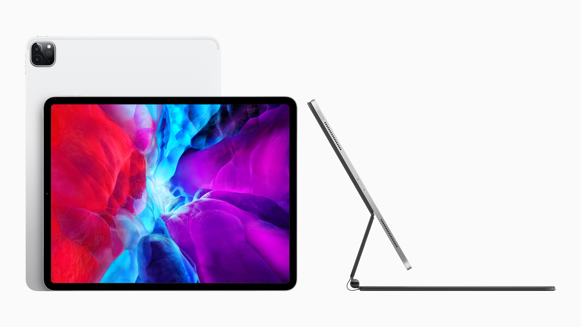 Apple iPad Pro and Magic Keyboard