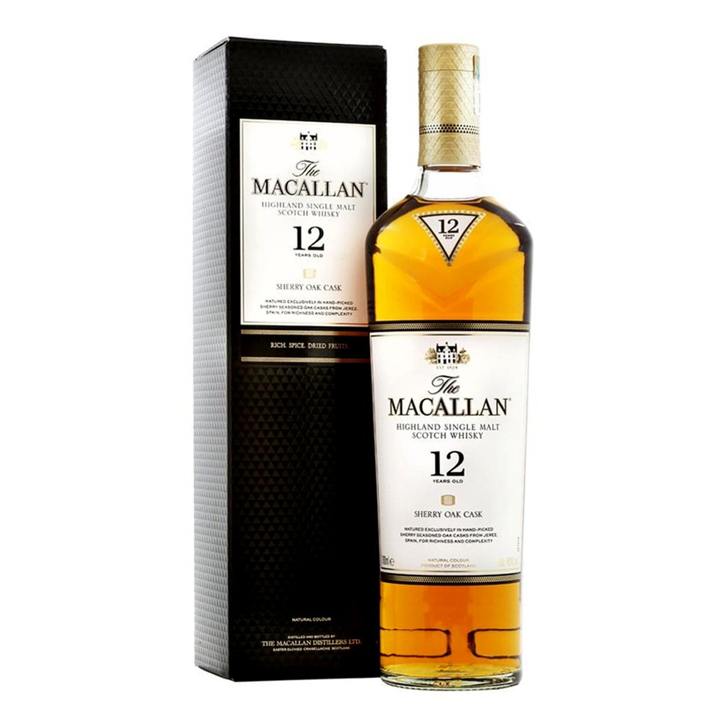 Macallan 12 Sherry Oak Whisky