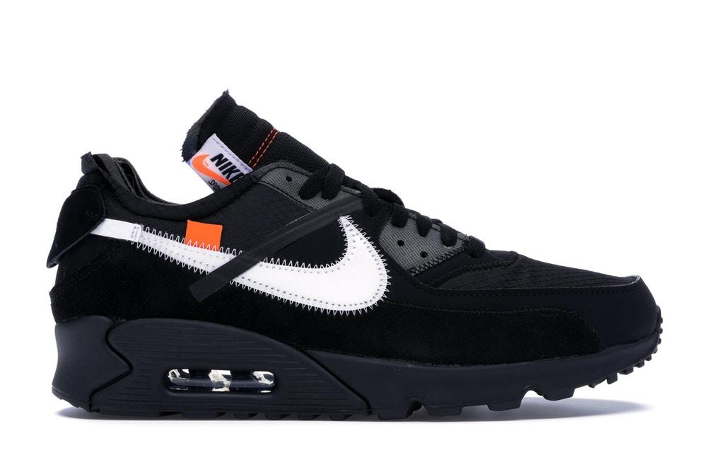 Nike Air Max 90: OFF-WHITE Black