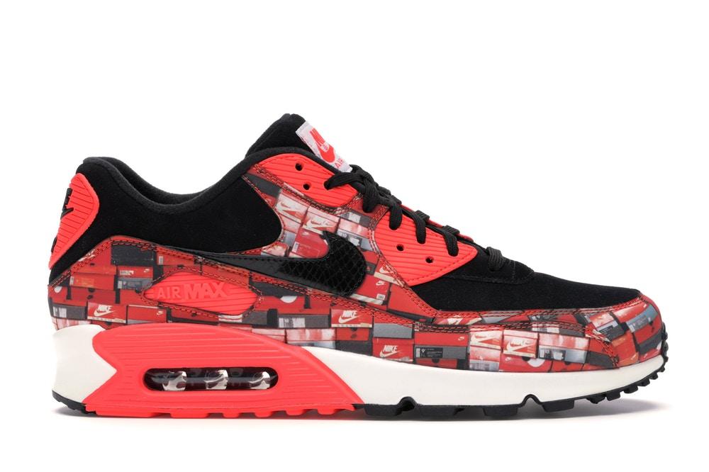 90: Atmos We Love Nike Bright Crimson