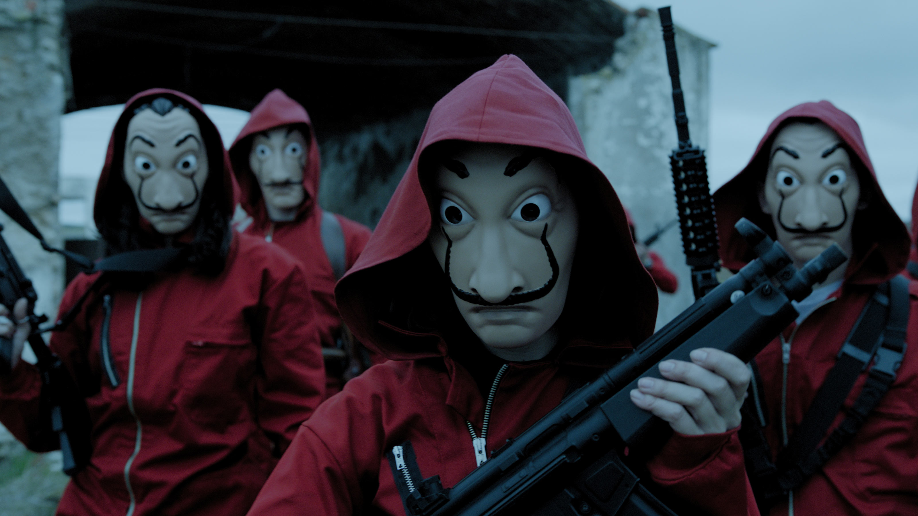 Review: Money Heist Part 4