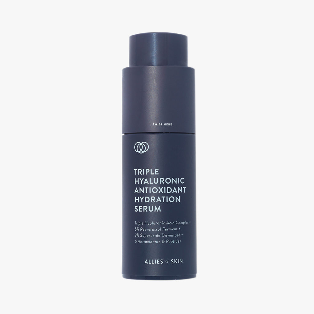 Triple Hyaluronic Antioxidant Hydration Serum, Allies of Skin