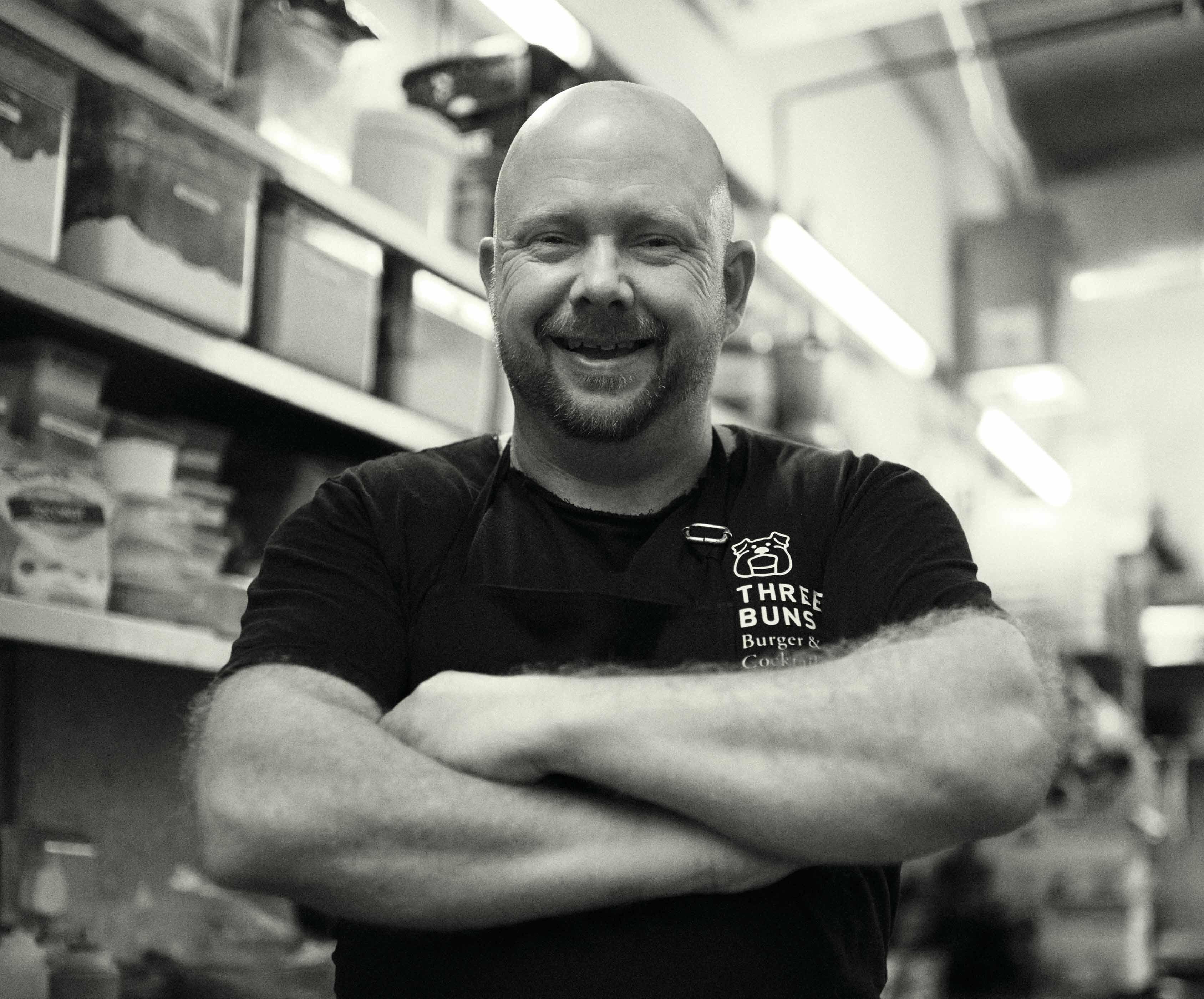 Adam Penney, head chef at Potato Head Folk and Three Buns