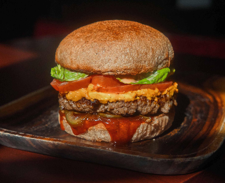 From the Earth Menu at Potato Head Folk: Vegan Seagal Burger