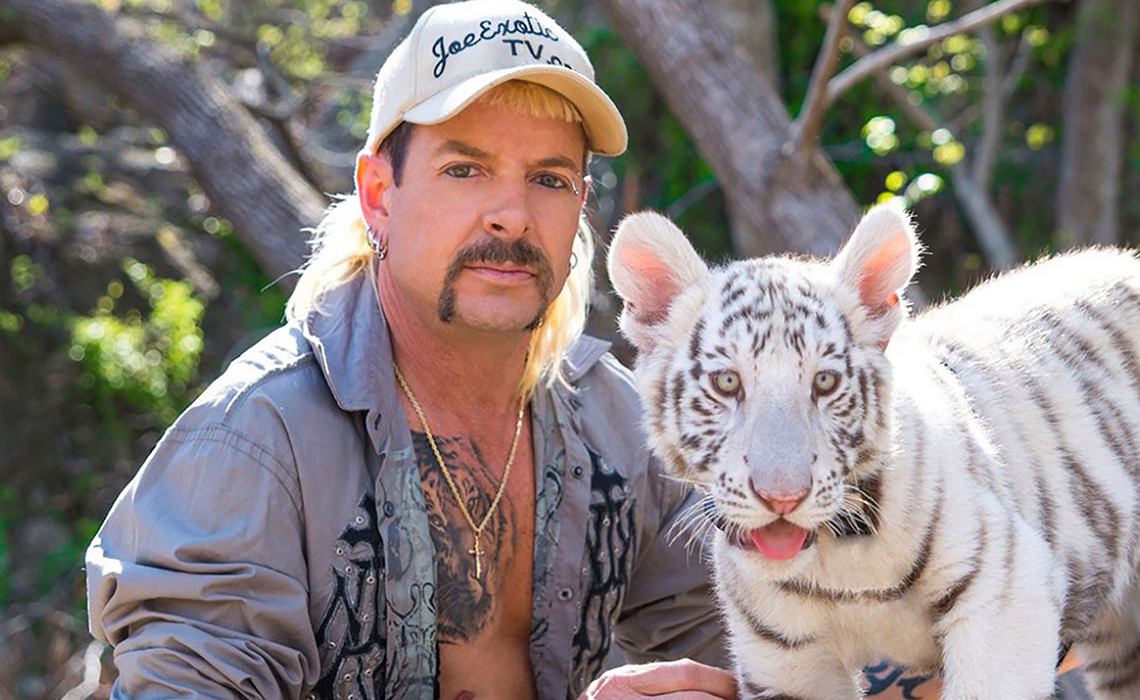 Nicholas Cage as Joe Exotic in Tiger King miniseries