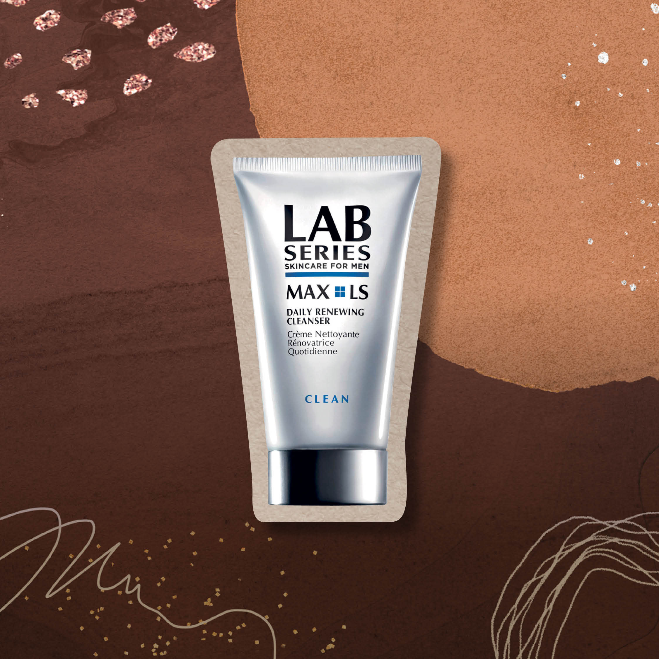 Grooming Awards 2020 - Best Cleanser for Mature Skin. Art Direction: Jonathan Tai