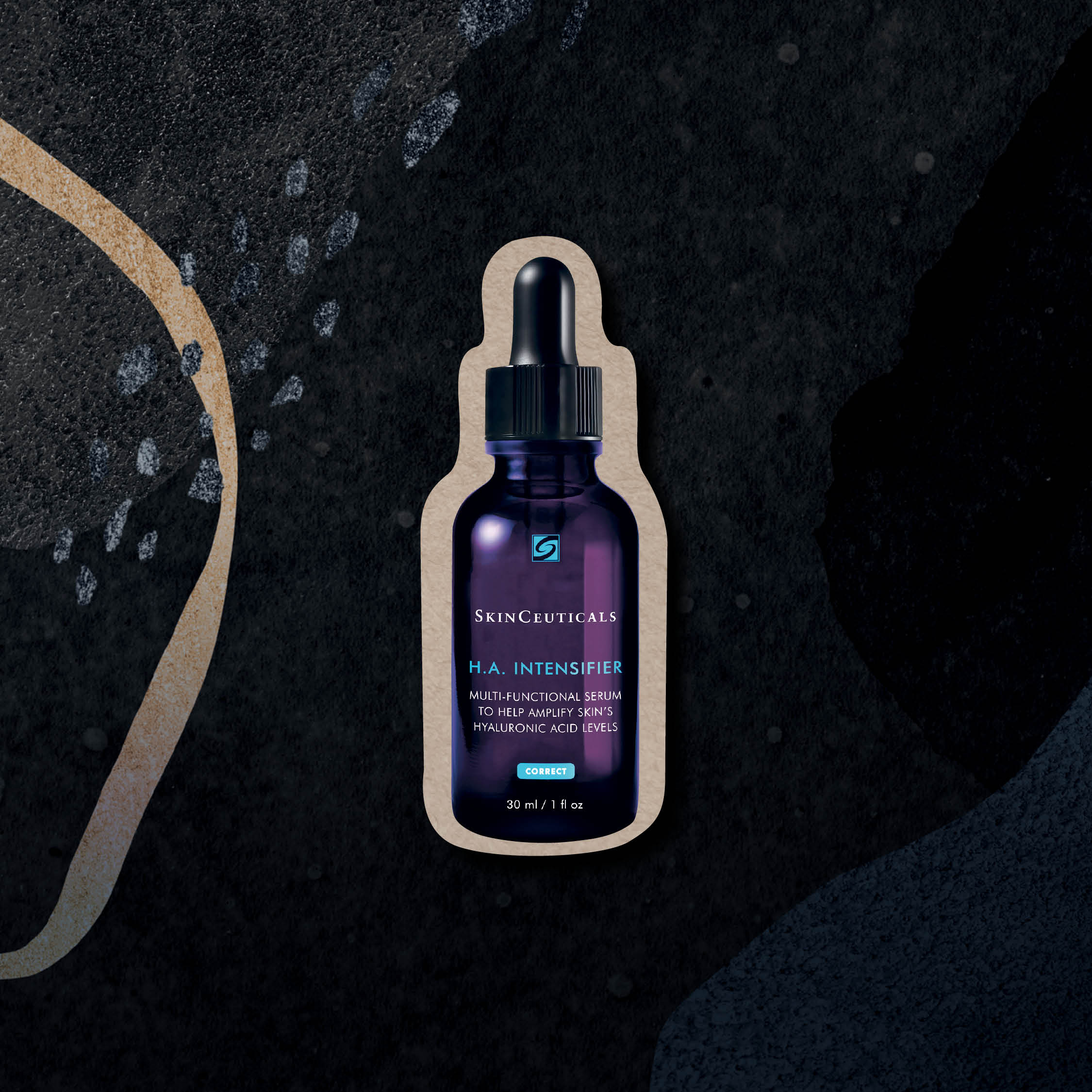 Grooming Awards 2020 - Best Serum for Dry Skin. Art Direction: Jonathan Tai