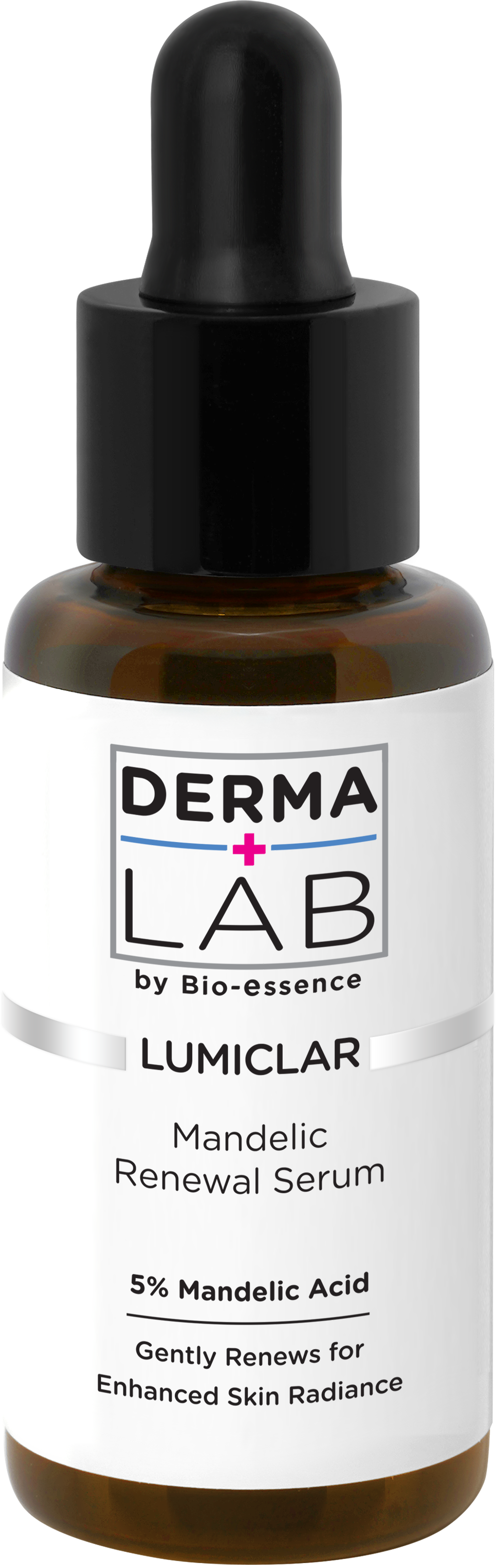 One of our favourite products from Derma Lab, the Lumiclar Mandelic Renewal Serum. Photo: Derma Lab