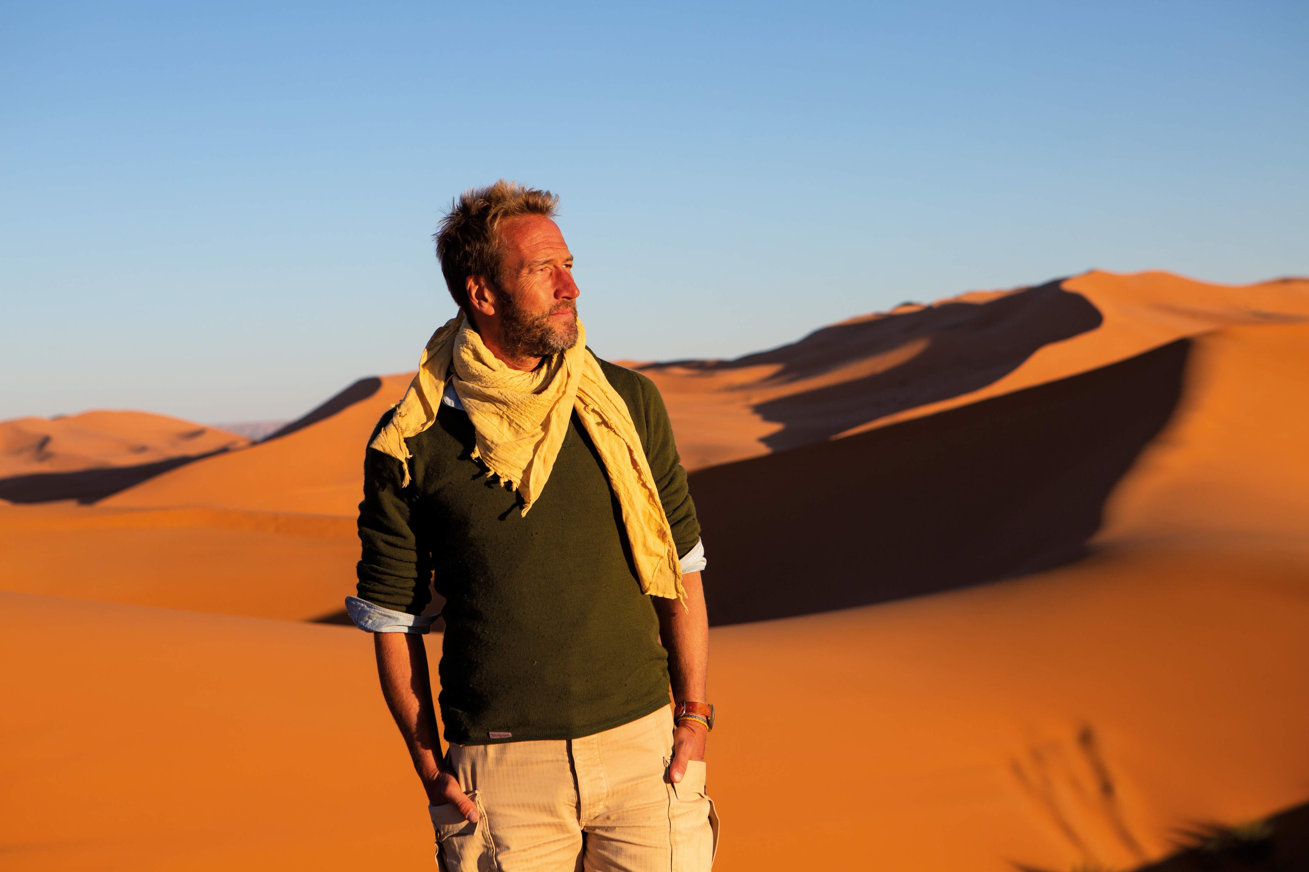 Ben Fogle in Where The Wild Men Are
