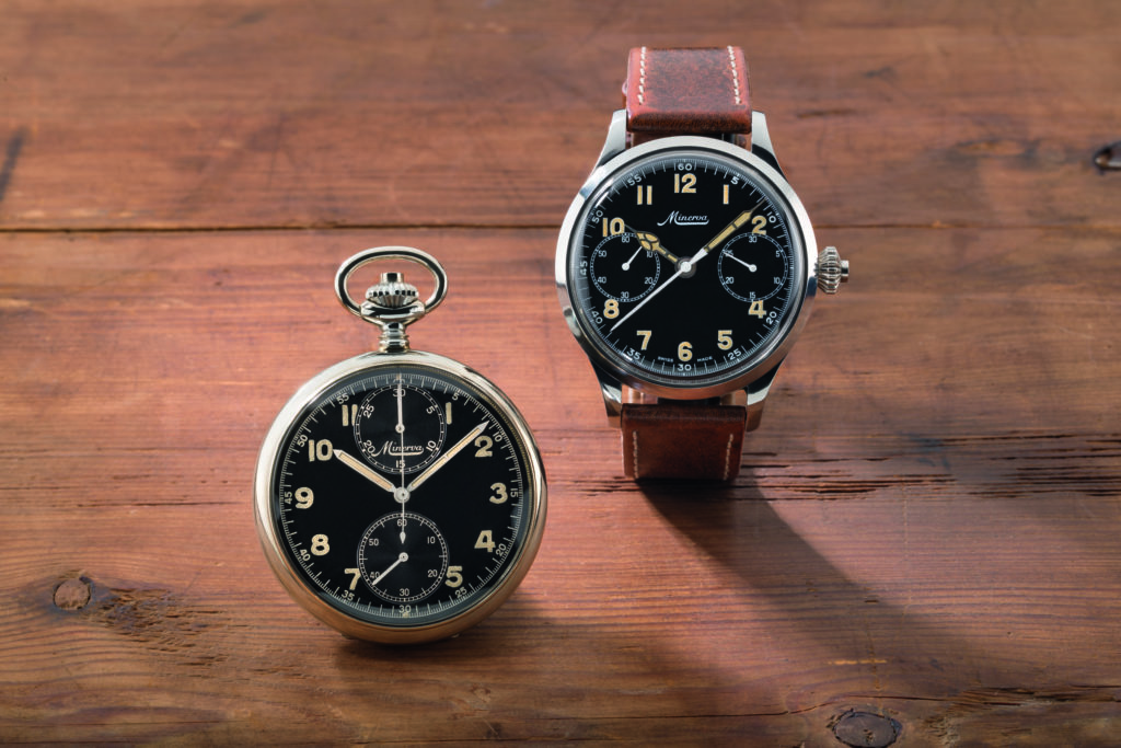 Historic Minerva timepieces