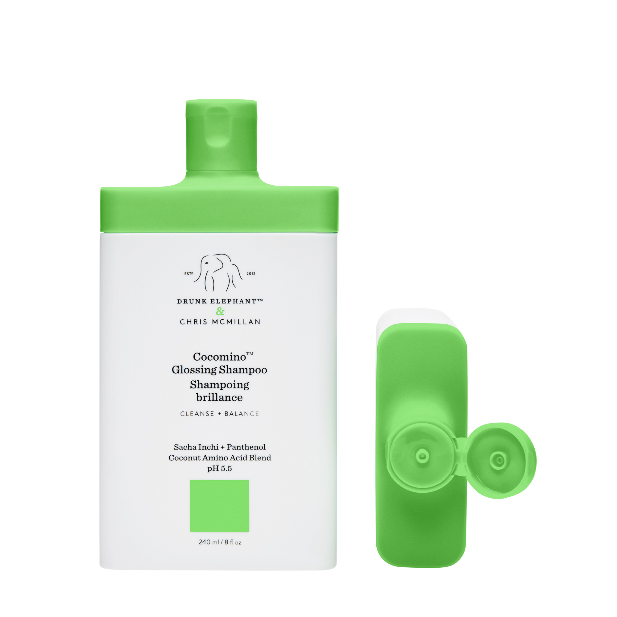 Cocomino Glossing Shampoo by Drunk Elephant