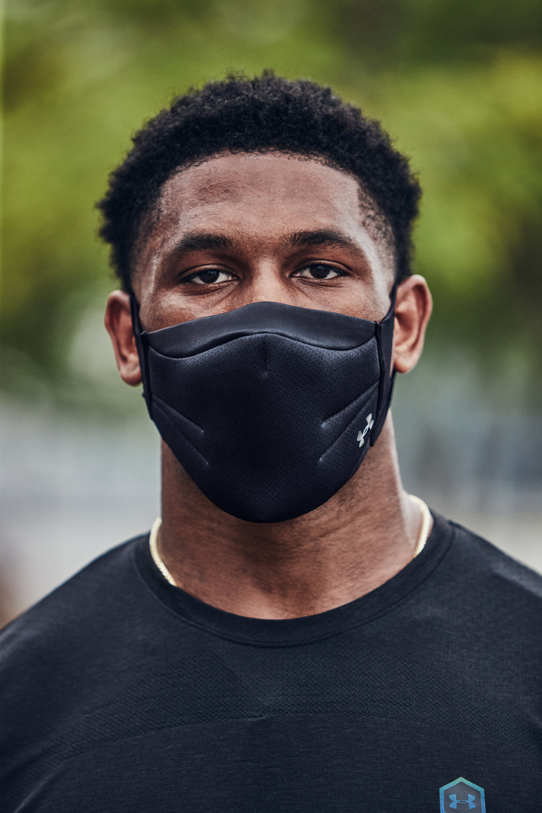 Under Armour Designs A High Performance Face Mask For Training And Exercise