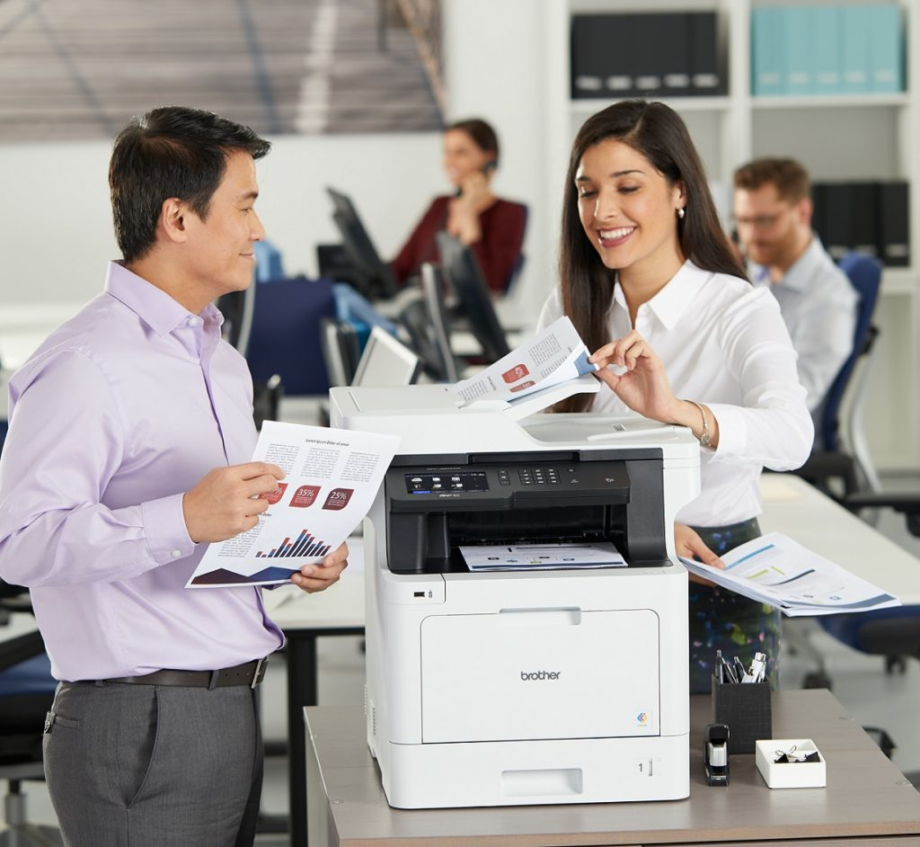 Printer management with Brother BRAdmin
