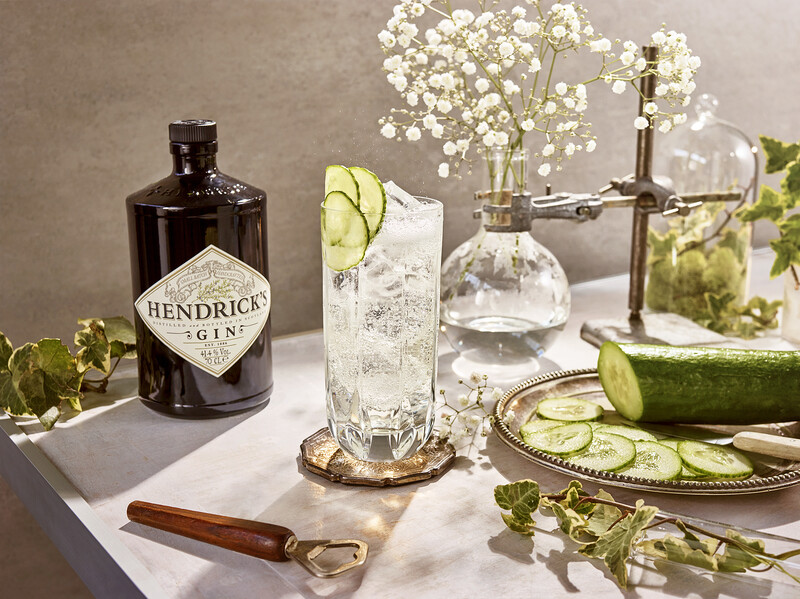 Gin cocktail
