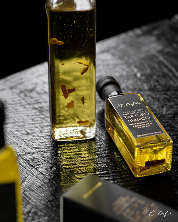 Elevate your home dining experience with P.S Cafe's premium truffle oil