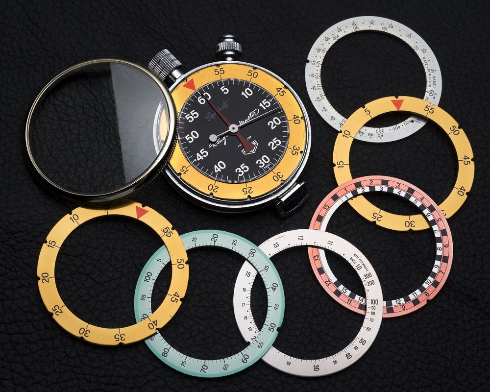 Heuer Ringmaster chronograph from 1957