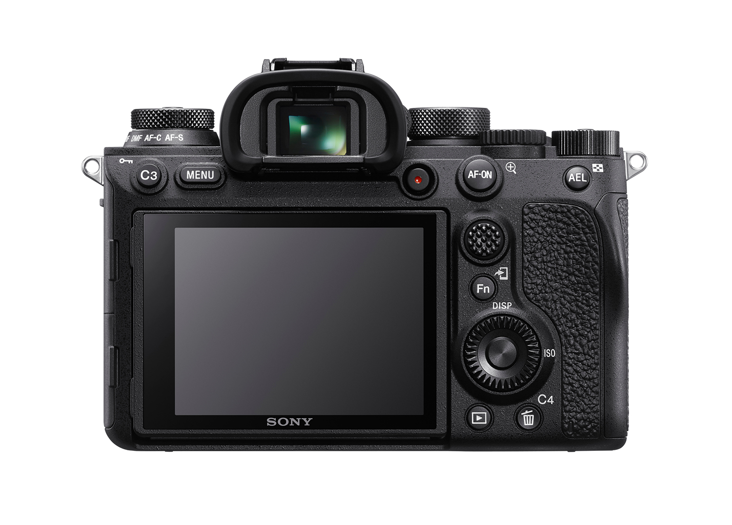 Rear view of the Sony A9II