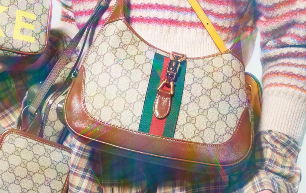 Gucci's take on the retro modern aesthetic