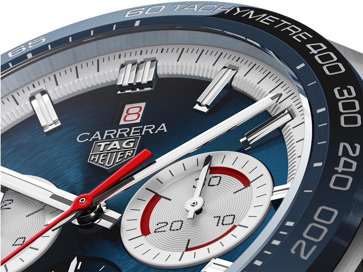 TAG Heuer Carrera Sport Chronograph 160 Years Special Edition with blue dial