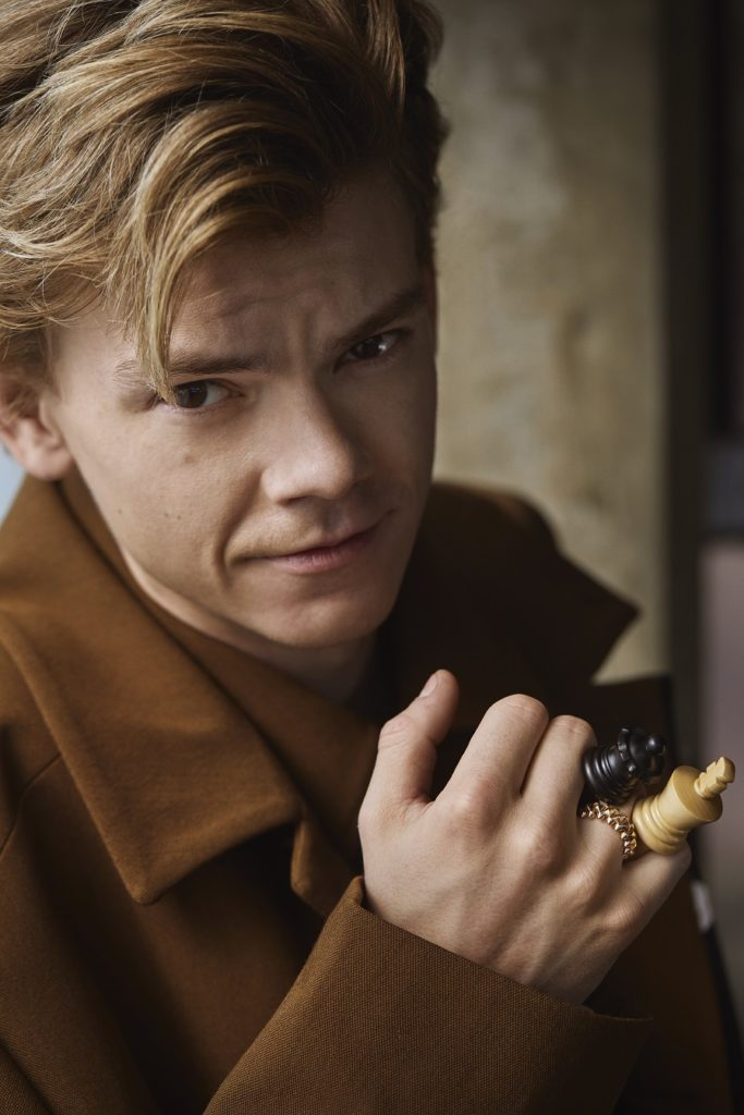 Thomas Brodie-Sangster interview The Queen's Gambit