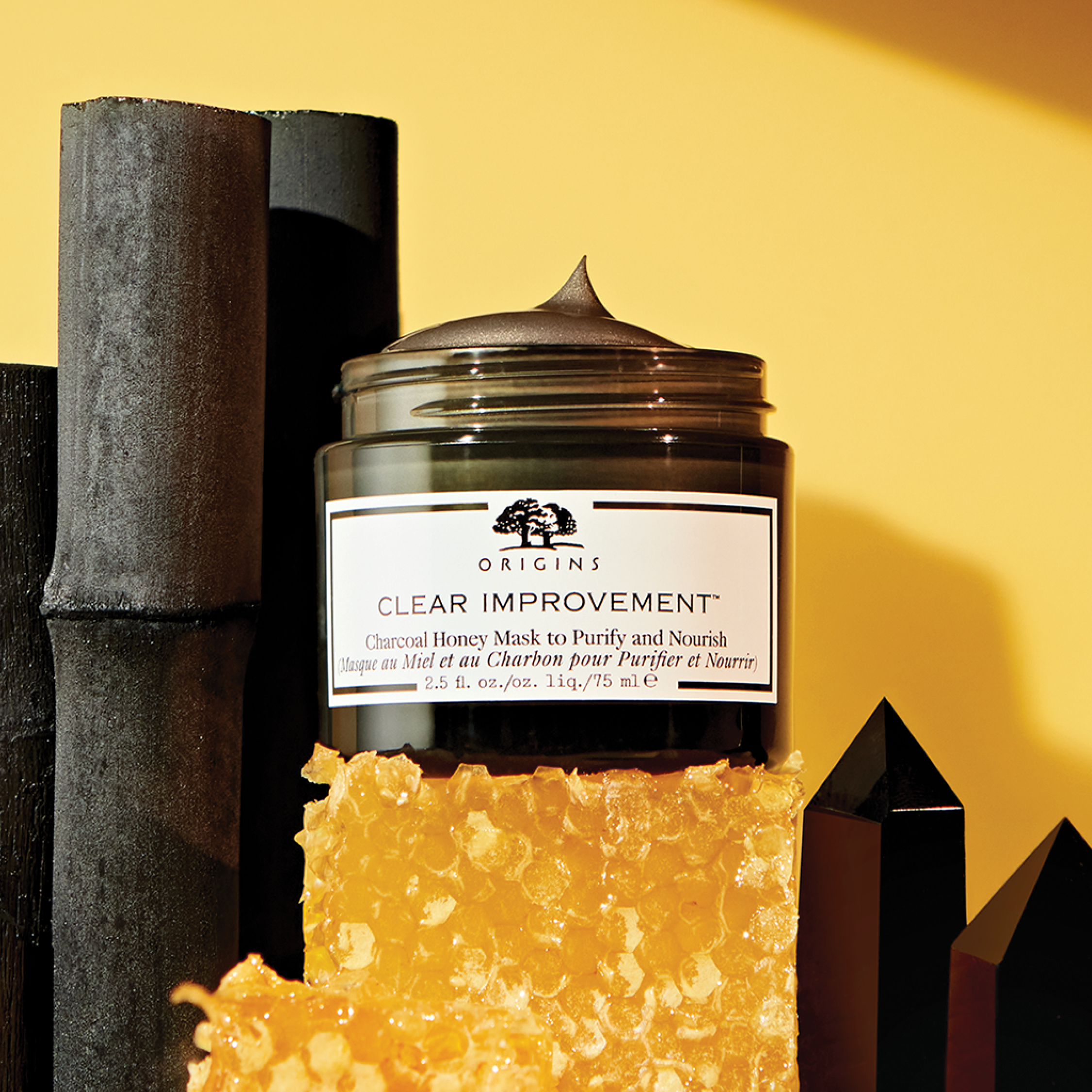 Clear Improvement Mask with Honey, Origins. Photo: Origins