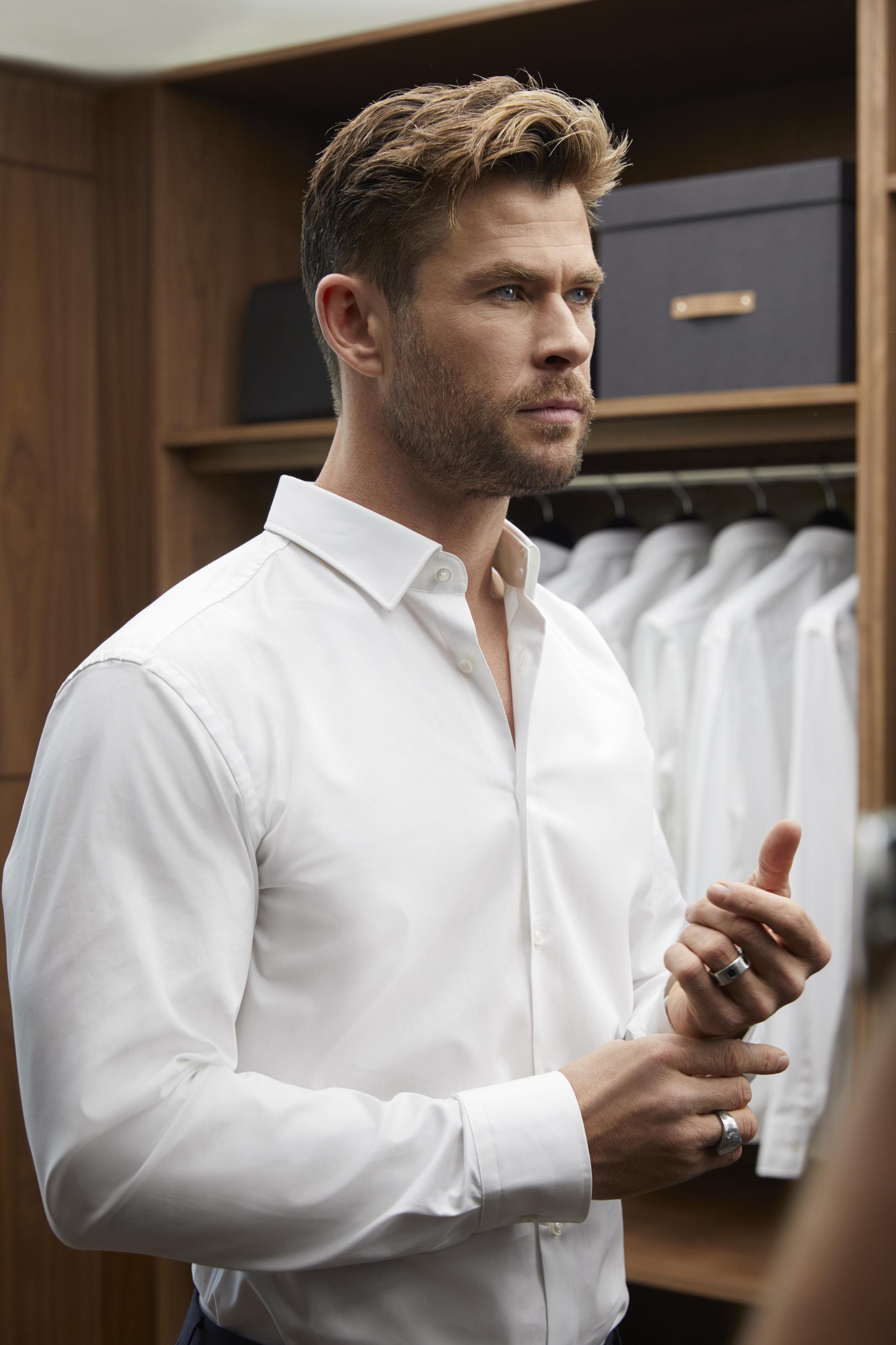 Chris Hemsworth for Boss Fragrances. Photo: Hugo Boss Fragrances