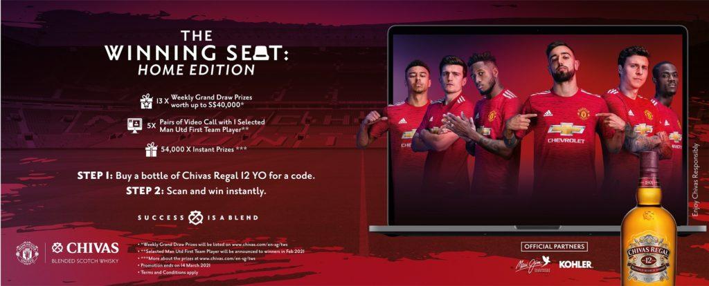 Chivas Regal The Winning Seat