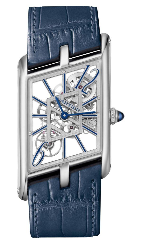 Cartier's shaped watches Tank Asymétrique