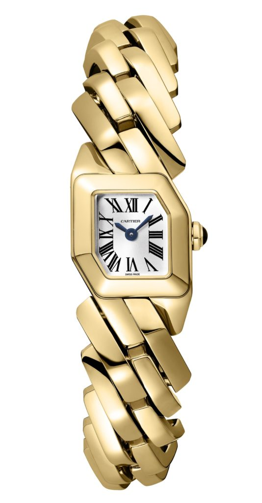 shaped watches Maillon de Cartier
