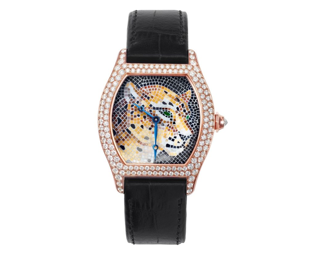 Cartier's shaped watches Tortue