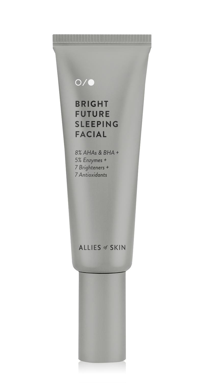 Bright Future Sleeping Facial, Allies of Skin. Photo: Allies of Skin