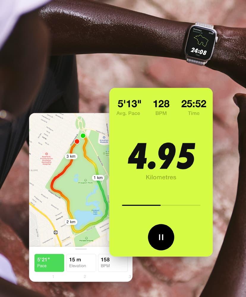 Nike workout app