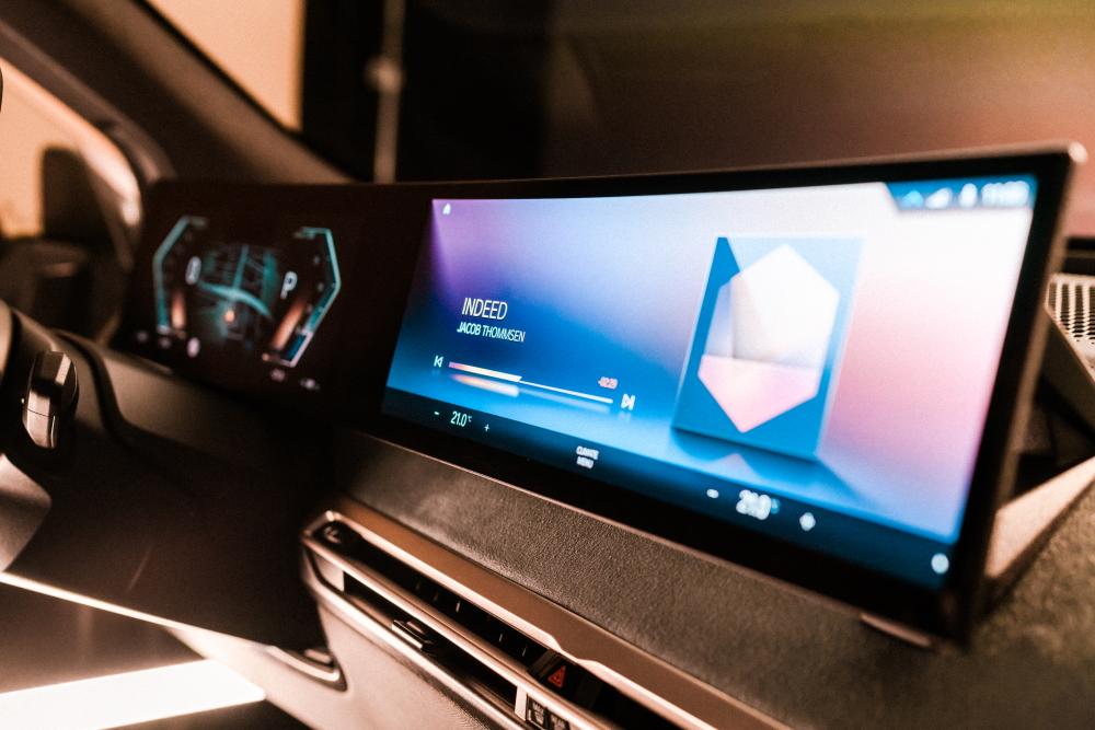 New BMW idrive