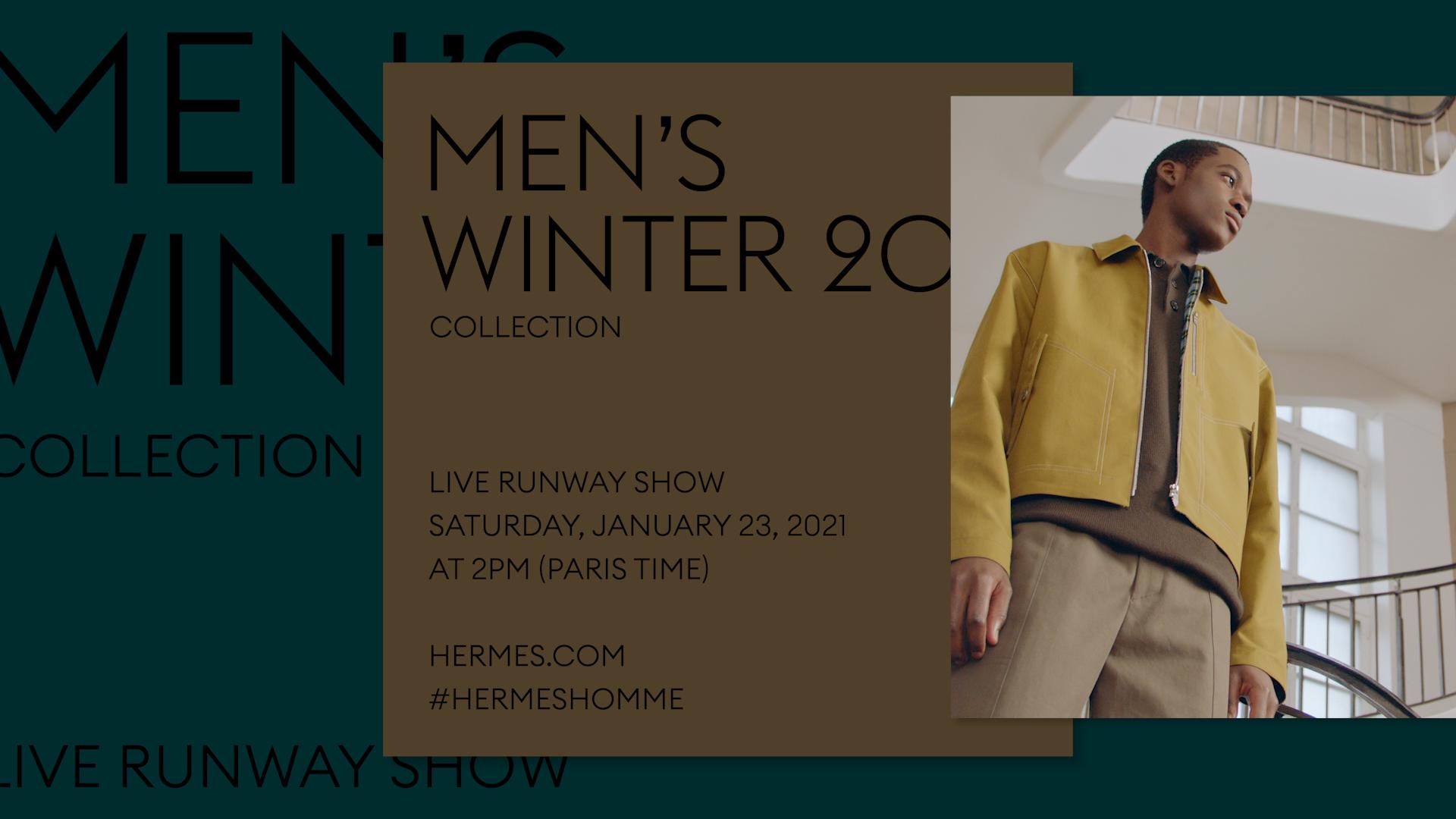 Catch The Hermès Autumn/Winter 2021 Show Live From Paris